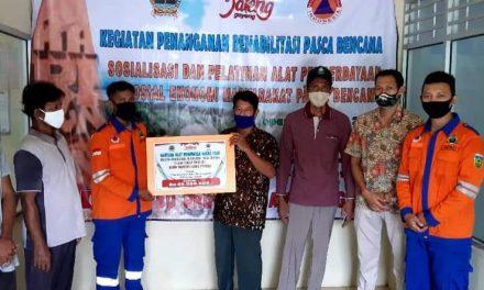 Pokmas SPKP Kemojan dapat bantuan Mesin Pembuat Bakso Ikan dari BPBD Prov. Jateng