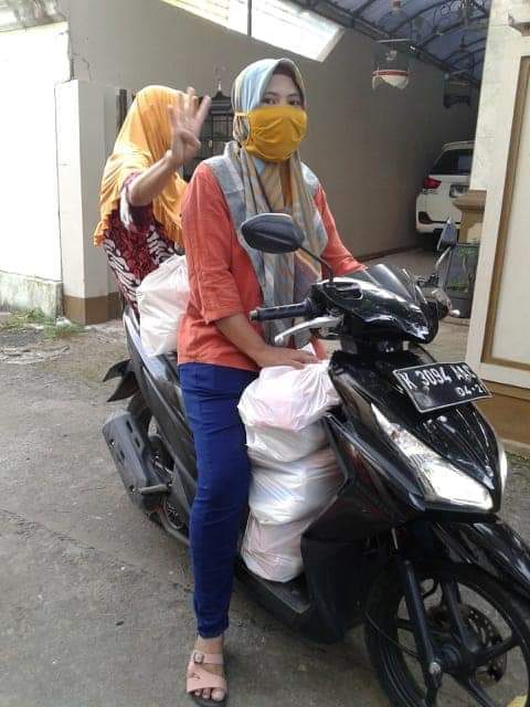 Bantuan Paket Sembako Mandiri ke-4 Untuk Warga Kauman  Bangsri