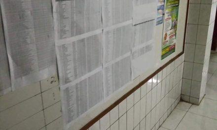 Pemdes Kedungmalang Beberkan Data Bansos Covid 19 di Balai Desa,Masjid dan Medsos untuk Transparansi