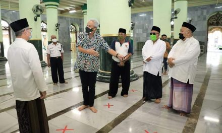 Persiapan PNB, Ganjar Keliling Cek Kesiapan Tempat Ibadah , Sekolah dan Mall