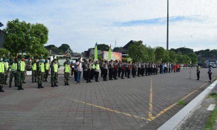 """TNI-Polri Gelar Apel Bersama, Sambut Kebijakan""""New Normal"""""""
