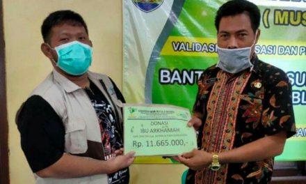 Korban KDRT  Dapat Donasi dari Penerima Manfaat PKH se Jepara