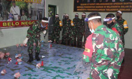 Simulasi Tactical Floor Game Digelar Dalam Latihan Posko I