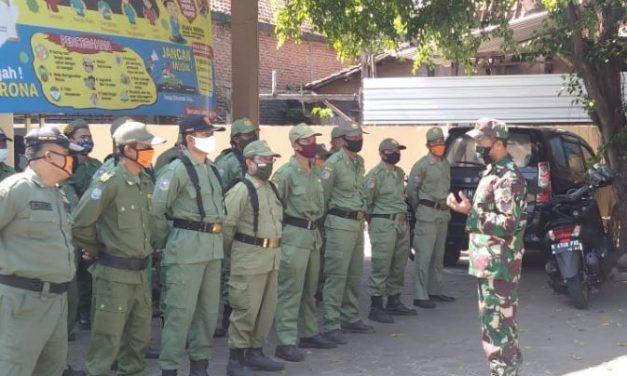 SatLinmas SeKecamatan Wonosalam Demak di Latih PBB dan Wasbang