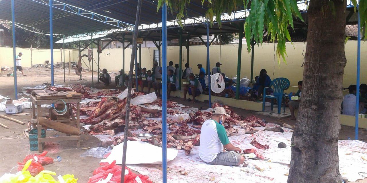 Qurban Tetap Meriah di Suasana Pandemi Corona di Jepara