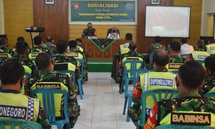 Jelang Pilkada ,Kodim Demak Gelar Sosialisasi Pengamanan Kepada Anggota