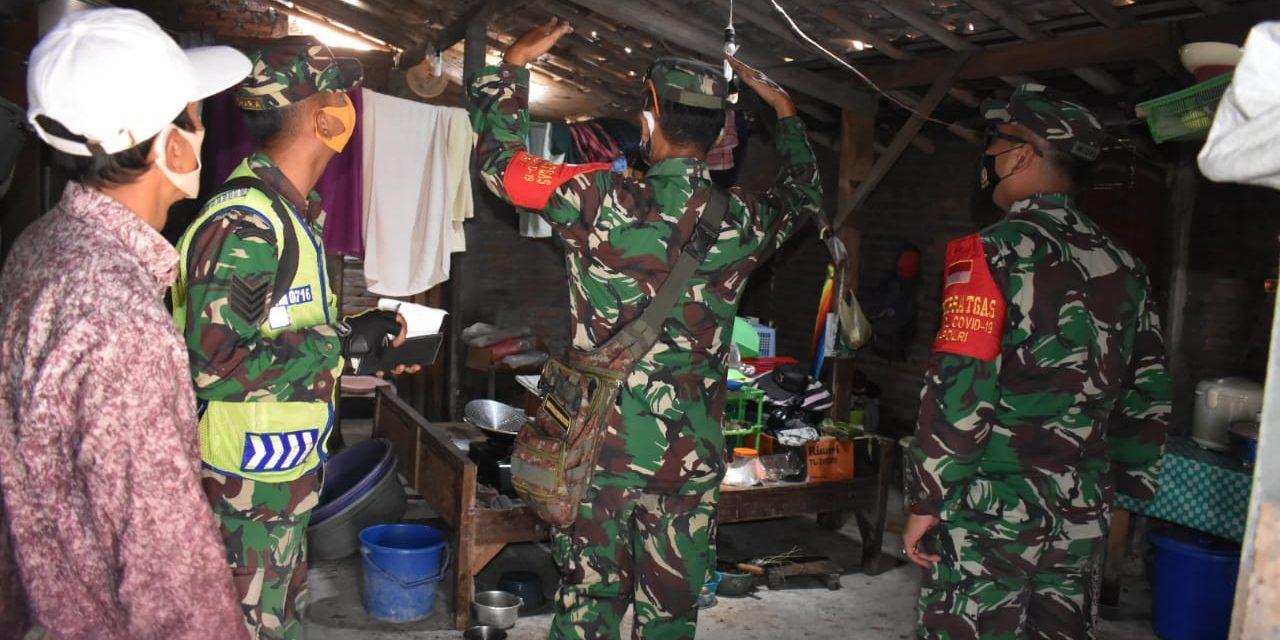 Pastikan Tepat Sasaran, Dandim 0716/Demak Cek Langsung Sasaran RTLH di Desa Gemulak