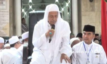 Habib Lutfi : Rakyat Harus Bekerja Ekonomi Jangan Turun, Ikuti Protokol Kesehatan