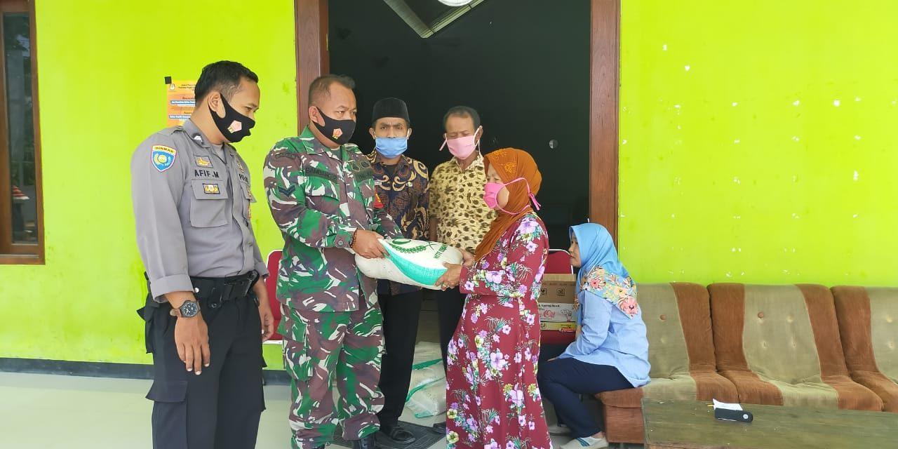 Bantuan Covid Diserahkan ,Warga Harus Taati Protocol Kesehatan