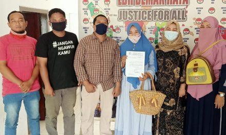 PKL Sampangan Demak mengadu Ke LBH Demak Raya.