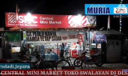 """"""" Central """" Mini Market Surodadi Kedung Jepara ,Toko Di Desa Yang Swalayan"""