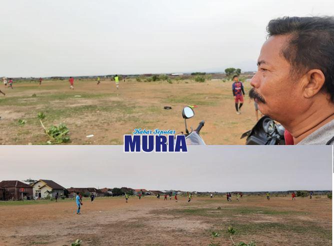 Remaja Desa Kedungmalang  Jepara  , Harapkan Desa Punya Lapangan Sepak Bola