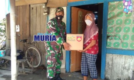 Sembako Untuk Warga Kurang Mampu Terdampak Covid 19 Dari TNI Jalan Terus