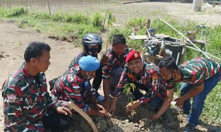 Laskar Merah Putih Jateng Tanam Pohon Di Waduk Simo Grobogan