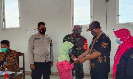 Giliran Desa Bandungrejo Demak Salurkan BLT Daba Desa Tahapke IV
