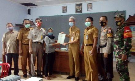 Hore !!!BPN Bagikan 1.168 Sertifikat Tanah Warga Desa Sumberejo Mranggen
