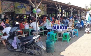 Pasar Kuliner Karangrandu Jepara , Tetap Ramai di Era New Normal