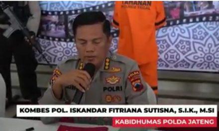 Polda Jateng Tangkap Tersangka Pengunggah Video Adzan Jihad