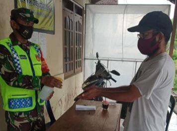 Pengambilan BLT Dana Desa Brumbung Demak ,  Wajib Patuhi Protokol Kesehatan