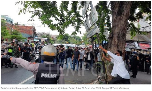 FPI Dibubarkan, Pakar: Idealnya Melalui Pengadilan, Bukan oleh Pemerintah