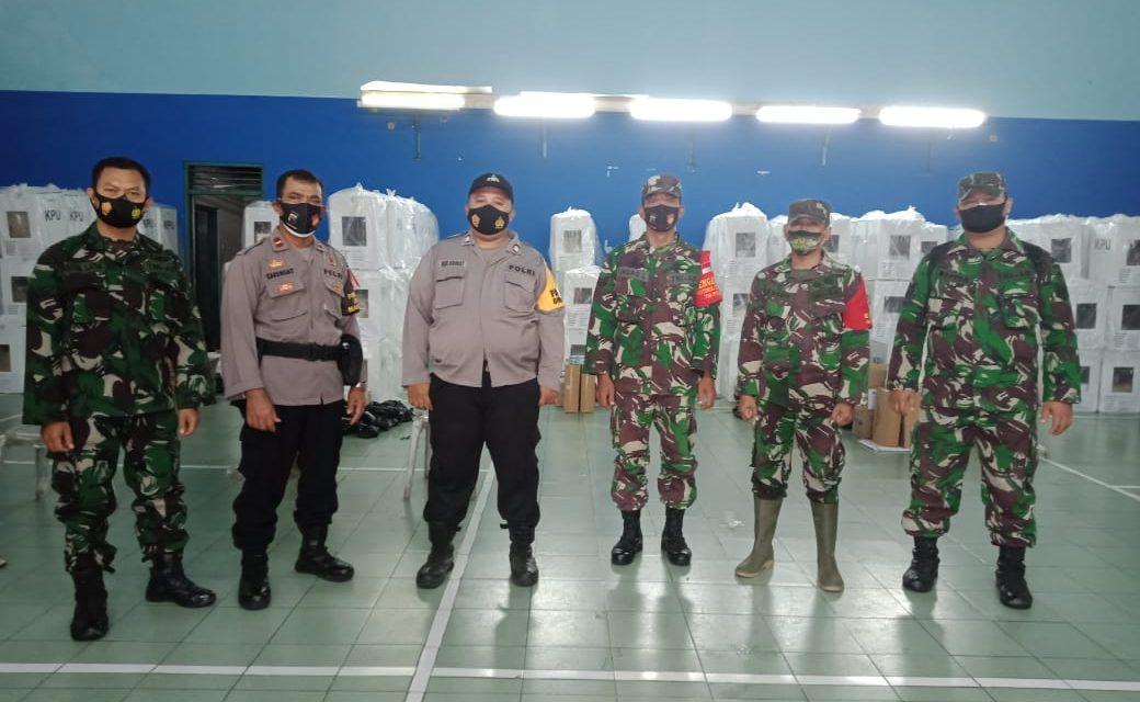 TNI dan Polri Jamin Keamanan Pendistribusian Logistik Pilkada Tahun 2020