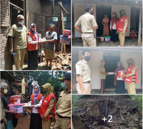PMI Jepara Salurkan Bantuan Pada Warga Yang Terkena Bencana
