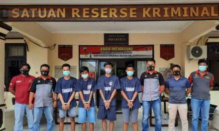 Polres Jepara Tangkap Empat Pembunuh Tukang Bubut Ayam