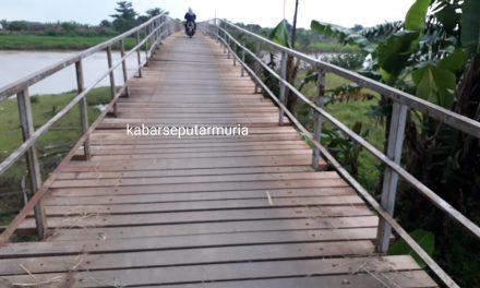 Jembatan Mbungpis Diperbaiki , Tak Bikin Miris Lagi