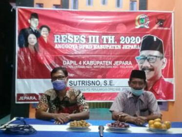 CATATAN AKHIR DAN AWAL TAHUN  POLITISI  SENIOR PDIP H.SUTRISNO,SE ,  RESES III  DAN PANDEMI COVID 19