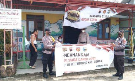 Desa Mutih Wetan Wakili  Kecamatan Wedung Sebagai Kampung Siaga Tangguh Covid-19.