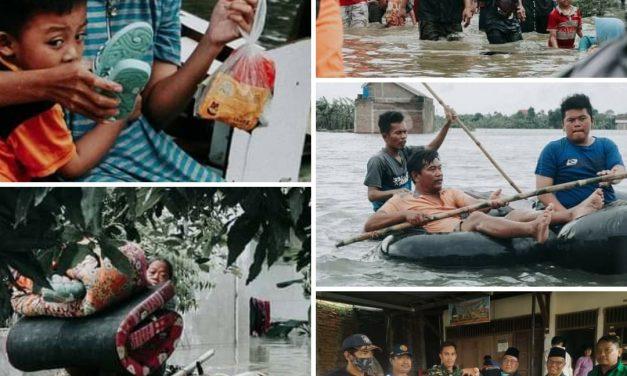 Yuk !!! Peduli  Ribuan Warga Korban Banjir di Dorang bersama LAZISNU Jepara