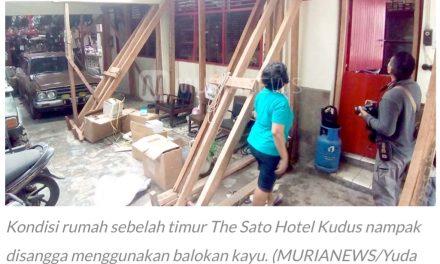 Kisruh Pembangunan The Sato Hotel Kudus, Pemkab: Pengembang Sudah Mau Ganti Rugi Tapi Belum Sepakat
