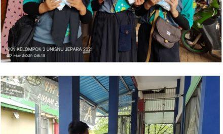 Peduli Kesehatan, Mahasiswa KKN Unisnu Kelompok 2 Bagikan 1000 Masker di Pasar