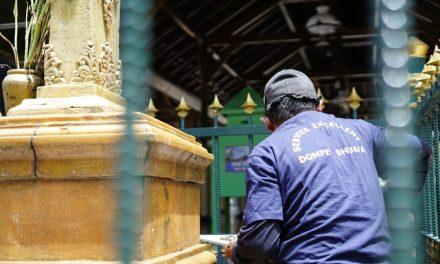 Jelang Ramadan 1442 H, Dompet Dhuafa Bersih-Bersih di Masjid Agung Demak