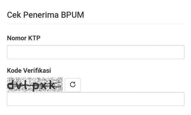 Ini cara Cek BPUM  dan Cara Persyaratan Pencairannya