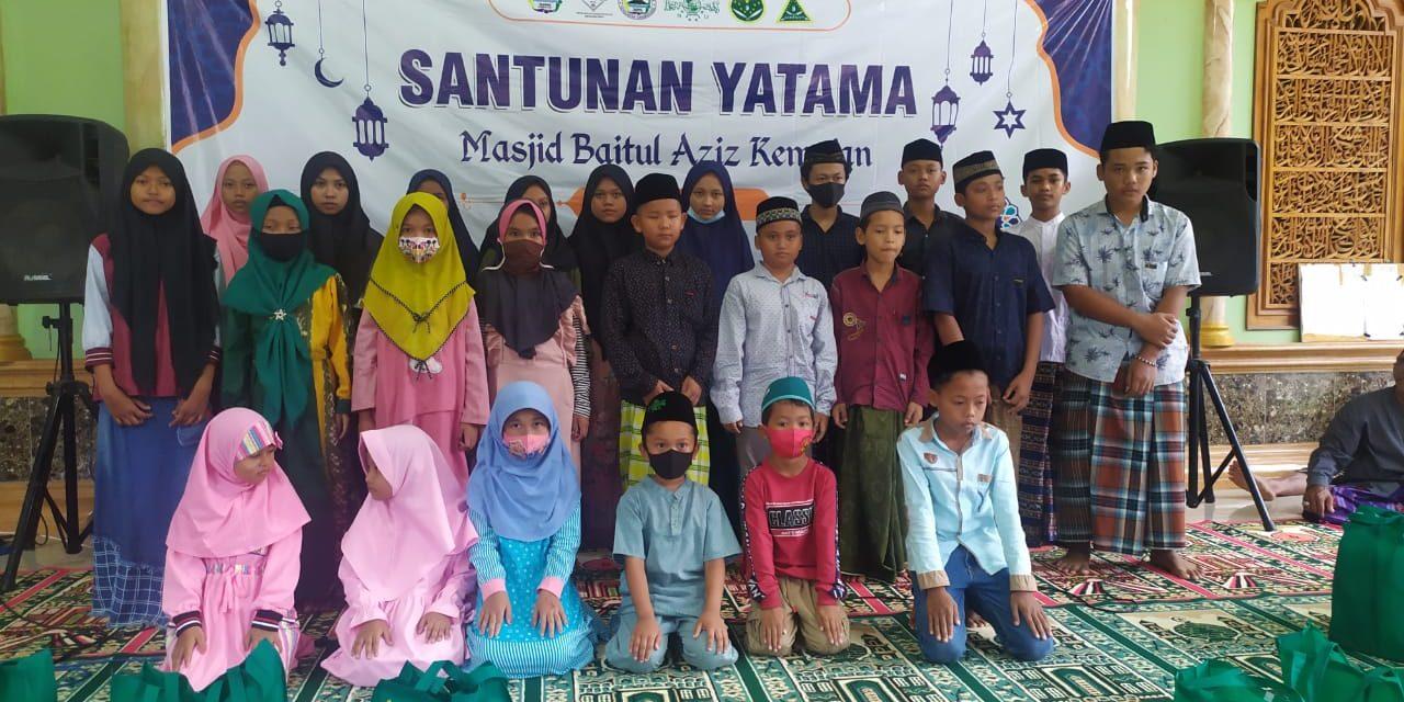 Yatama Desa Kemujan Karimunjawa , Terima Santunan di Bulan Ramadan