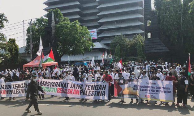 Solidaritas Masyarakat Semarang Bela Palestina