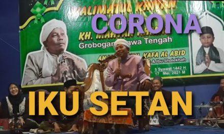 Jangan Takut Corona , Minta Yang Buat Corona untuk Menghentikan