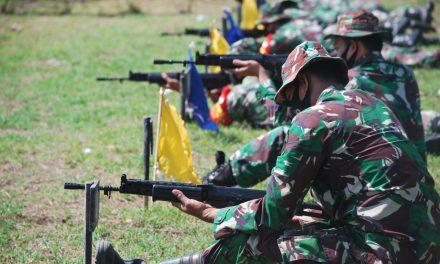 165 Anggota Kodim Demak Ikuti Latihan Tembak