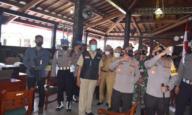 Kapolda Jateng Cek Kesiapan Kabupaten Demak Tangani Penyebaran Covid-19