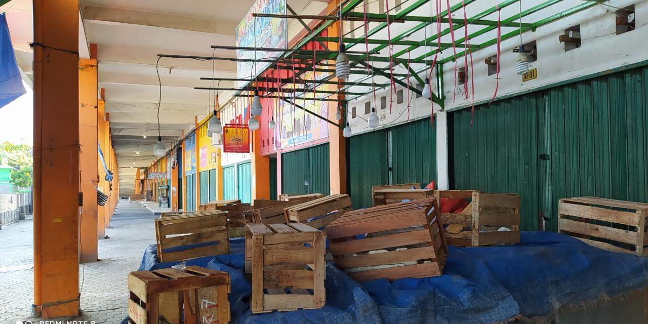 Pasar Bintoro Demak Tutup,  Aktifitas Jual Beli Berhenti Satu Hari