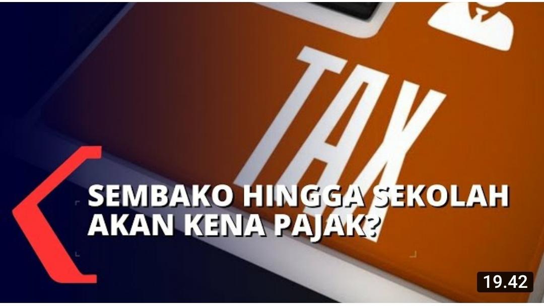 Soal PPN Sembako , Kebangetan Kalau Direalisasikan