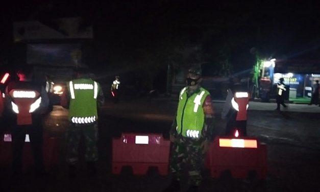 PPKM Darurat Diperpanjang, Aparat TNI dan Polri di Mranggen Lakukan Pembatasan Aktivitas Warga
