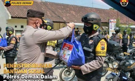 1.000 Paket Sembako dibagikan ke Warga Terdampak PPKM Darurat