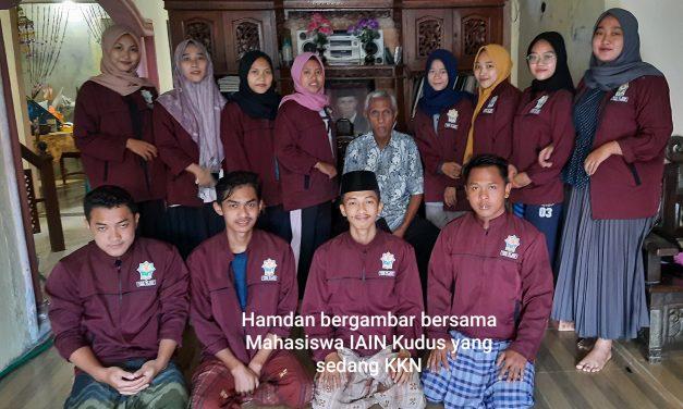 Hamdan Mantan Kades Yang Peduli Mahasiswa Yang Sedang  KKN Di Desanya