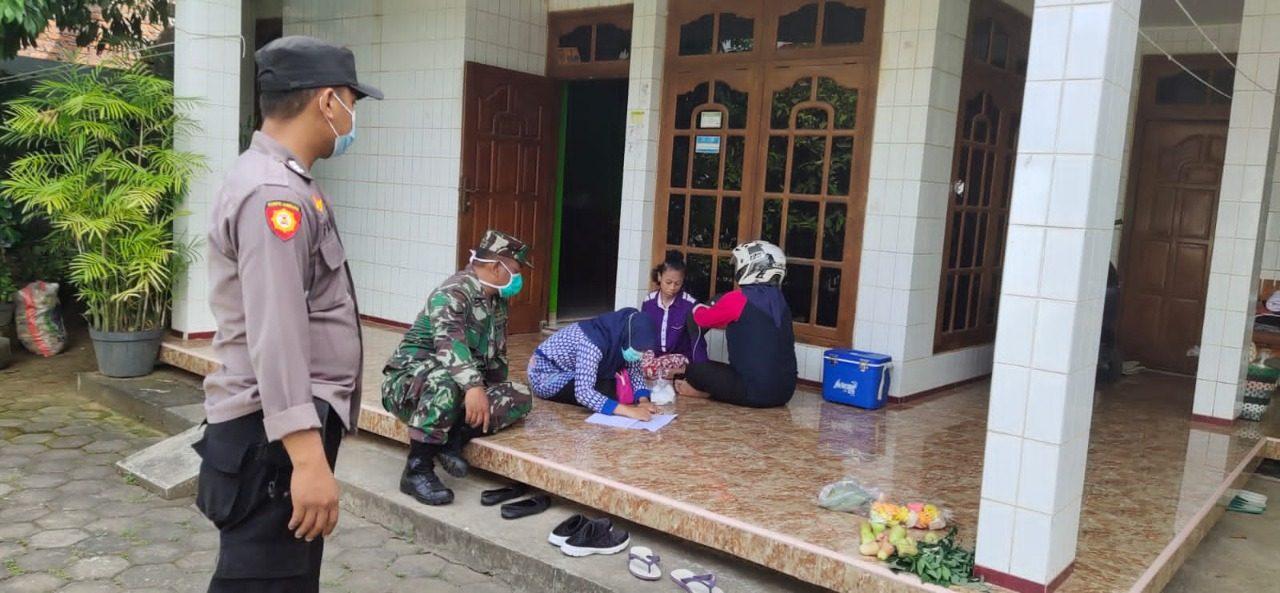 12 ODGJ dan Penyandang Disabilitas di Desa Rejosari Demak Di Vaksin