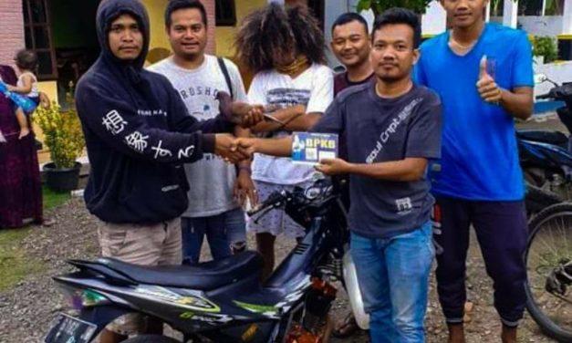 Temukan Merpati Warga Desa Kwasen Pekalongan dapat Hadiah Motor Satria